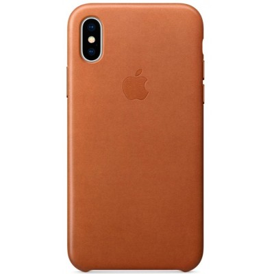 Накладка Leather Case Full для iPhone X/XS Brown