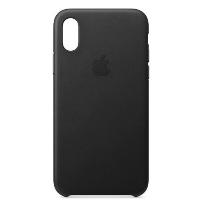 Накладка Leather Case Full для iPhone X/XS Black