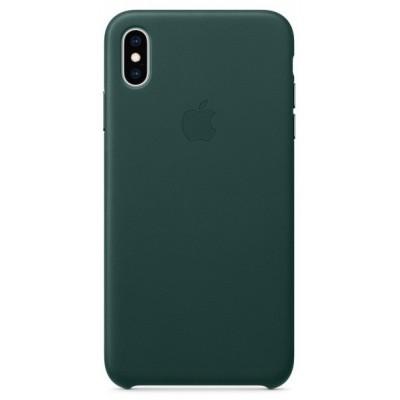 Накладка Leather Case Full для iPhone X/XS Green