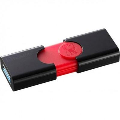 Флеш пам'ять 16Gb Kingston DT106 Black-Red 3.1