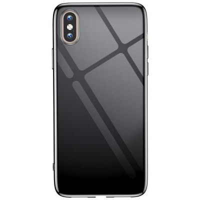 "Чохол ""силікон"" T-Phox Crystal iPhone XS Max Black"