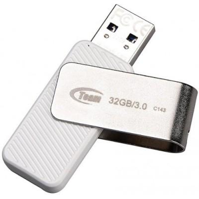 Флеш пам'ять 32Gb Team C143 White 3.0