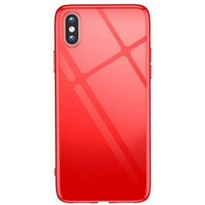 "Чохол ""силікон"" T-Phox Crystal iPhone XS Max Red"