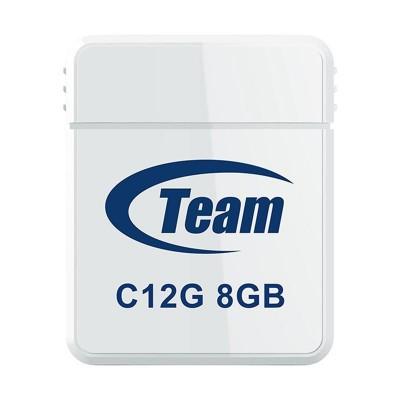 Флеш пам'ять 8Gb Team C12G White