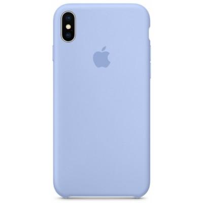 Накладка Silicone Case для iPhone XS Max Light Blue
