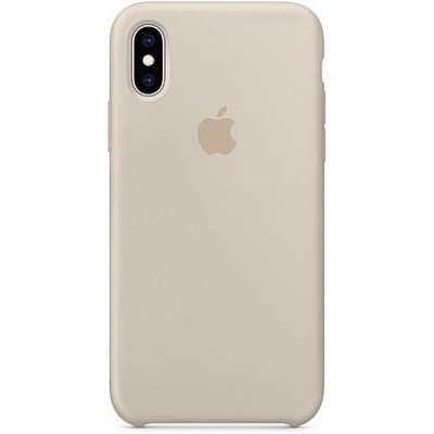 Накладка Silicone Case для iPhone XS Max Blue Grey