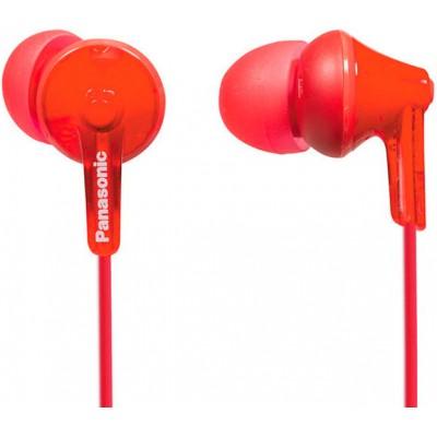 Навушники Panasonic RP-HJE125E Red