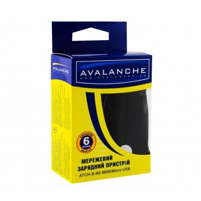Автомобільний зарядний пристрій Avalanche 8600 (800 mAh) Micro USB