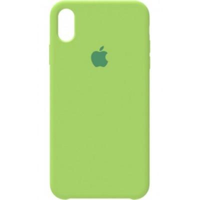 Накладка Silicone Case для iPhone XS Max Green