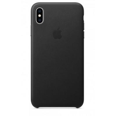 Накладка Leather Case Full для iPhone XS Max Black