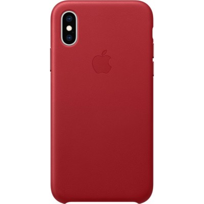 Накладка Leather Case Full для iPhone XS Max Red