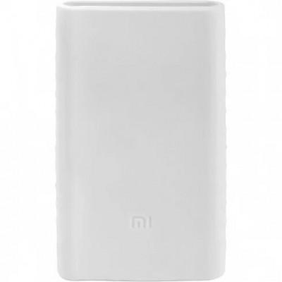 Чохол силікон Xiaomi Power Bank Mi2 White