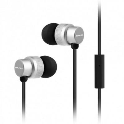 Навушники Awei ES 970i Silver
