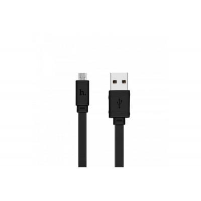 Кабель Micro USB HOCO X-9 Black (2m)