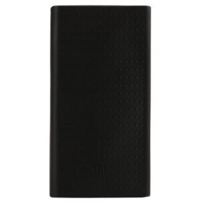 Чохол силікон Xiaomi Power Bank (20000mAh) Black