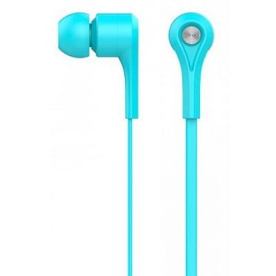 Навушники Celebrat D3 + mic Blue