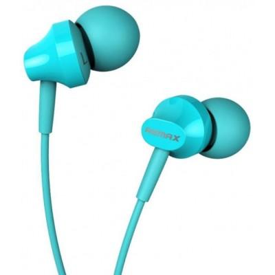 Навушники Remax RM-501 + mic Blue 3.5mm