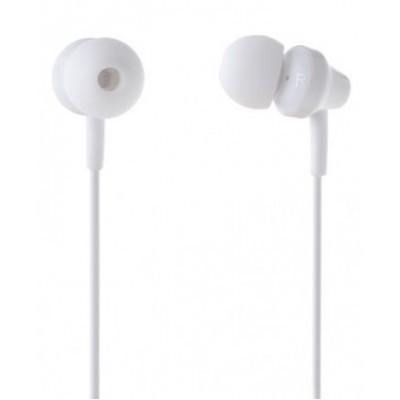 Навушники Remax RM-501 + mic White 3.5mm