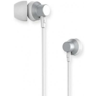 Навушники Remax RM-512 + mic Silver