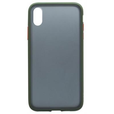 Накладка Gingle Clear Case  для iPhone X/XS Olive-Orange