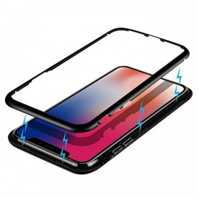 Чохол Magnetic Frame Case iPhone XS Max Black
