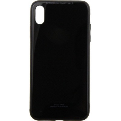 Чохол Glass Case iPhone XS Max Black