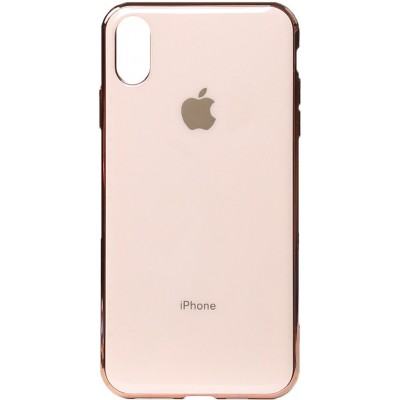 Накладка для iPhone XS Max Rose Gold