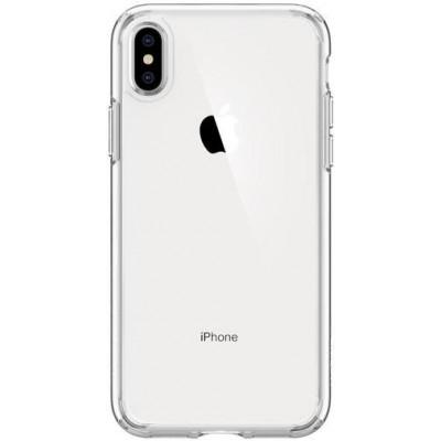 "Чохол Crystal iPhone XS Max ""силікон"" Прозорий"