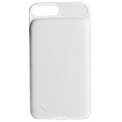 Чохол-додаткова батарея iPhone 6/6S/7 Hoco BW3 (3000 mAh) White