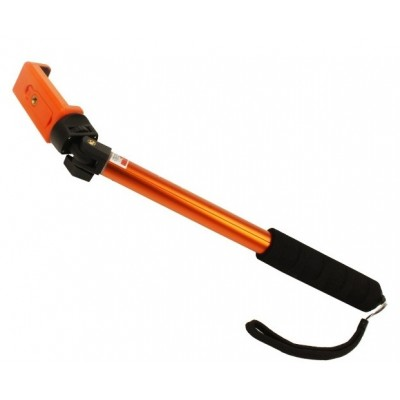 Тримач розсувний для Selfi Jmary Qp-128 з кріпленням під кнопку Orange