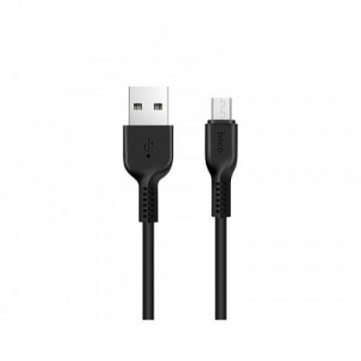 Кабель Micro USB HOCO X-13 Easy Black (1m.)