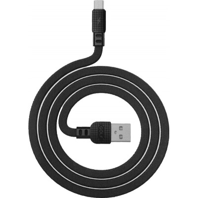 Кабель Micro USB Golf Armor (GC-66m) 1m.Black