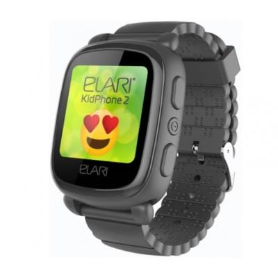 Дитячий Смарт Годинник Elari 2 KP-2B GPS Black