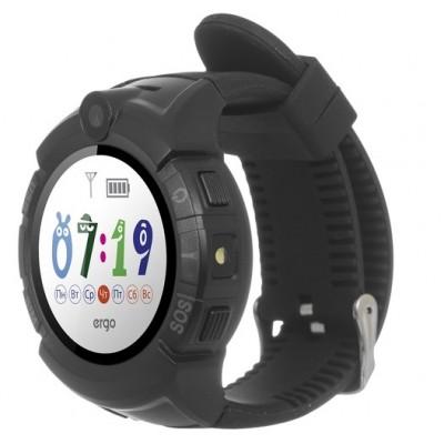 Дитячий Смарт Годинник Ergo C010 GPS Black