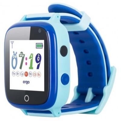 Дитячий Смарт Годинник Ergo C020 GPS Blue