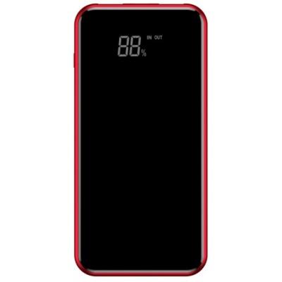 Додаткова батарея Baseus PPALL-EX09 (8000 mAh) + безпровідна зарядка Red