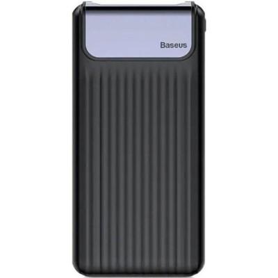 Додаткова батарея Baseus Thin PPYZ-C01 (QC3.0 M+T.LCD) (10000 mAh) Black
