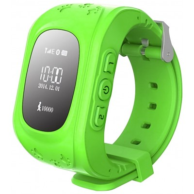 Дитячий Смарт Годинник GPS Kids Watch Green