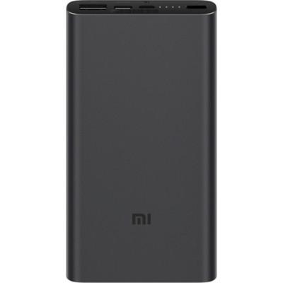 Додатковий акумулятор Xiaomi Mi 3 10000mAh USB+Type-C Black