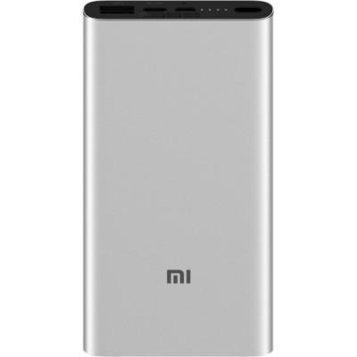 Додатковий акумулятор Xiaomi Mi 3 10000mAh USB+Type-C Silver