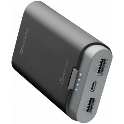 Додатковий акумулятор 7800 mAh CellularLine Free Power Black