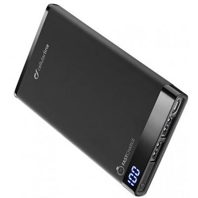 Додатковий акумулятор 6000 mAh CellularLine Free Power Manta Black