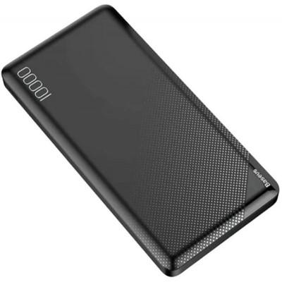 Додатковий акумулятор Baseus Mini Cu PPALL-KU01 2xUSB (10000 mAh) Black