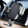 Тримач в авто Baseus Wireless + Charger WXYL-0S Silver