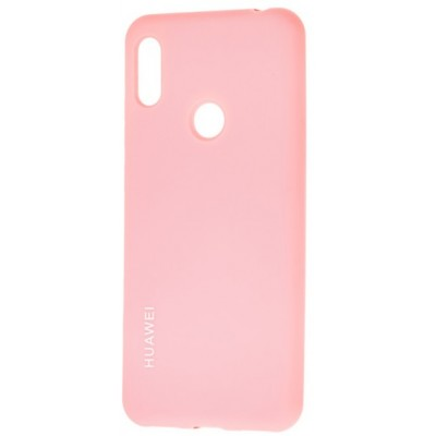 Накладка Silicone Cover для Huawei Y5 2019/Honor 8S Silky&Soft Touch Pink Sand