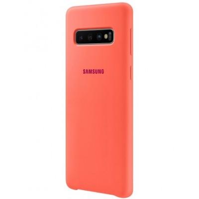 Чохол Silicon Cover Samsung G975 (S10 Plus) EF-PG975THEGRU Berry Pink