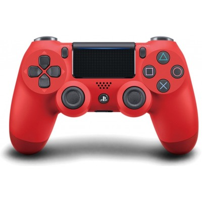Геймпад безпровідний PS4 Dualshock 4 V2 Magma Red