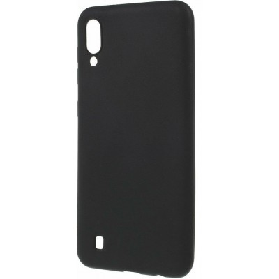 Накладка Silicone Cover для Samsung M105 (M10 2019) Silky&Soft Touch Black