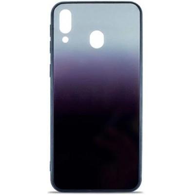 Накладка Glass Case Gradient для Samsung M205 (M20 2019) Steel Grey