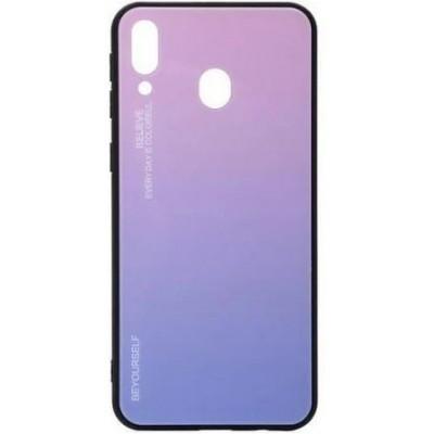 Накладка Glass Case Gradient для Samsung M205 (M20 2019) Light Pink